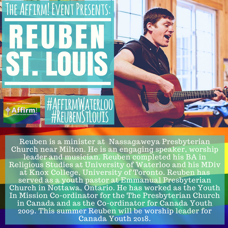 About Reuben St. Louis